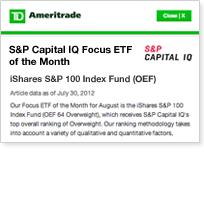 Capital iq rates